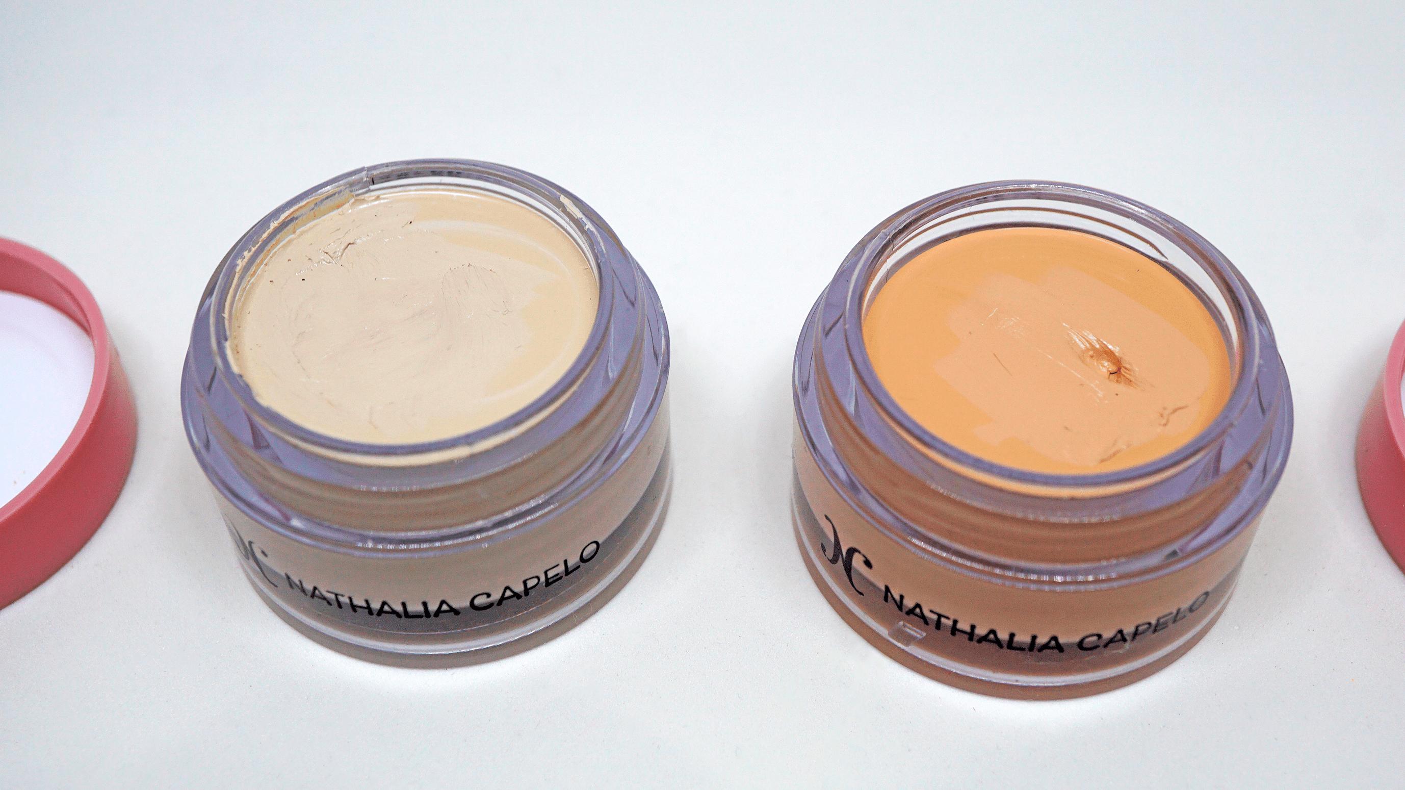 Corretivos Chantilly e Vanilla.